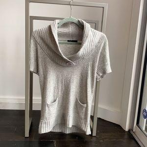 BCBG short sleeve sweater